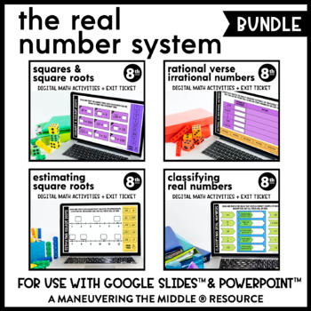 Real Number System - Supplemental Digital Math Activities for Google Slides™