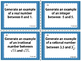 8.2A Real Number System Task Cards