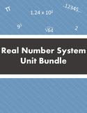 Real Number System Unit Bundle