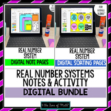 Real Number Systems Note and Activity Bundle for Google Slides™