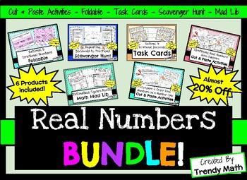 Real Numbers Bundle!