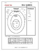 The Real Number System: Classifying Real Numbers Venn Diagram Worksheet