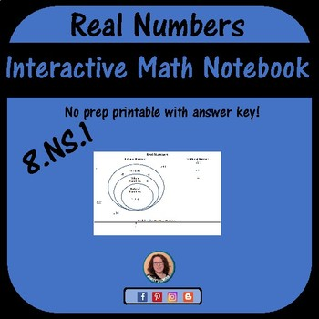 Real Numbers Graphic Organizer