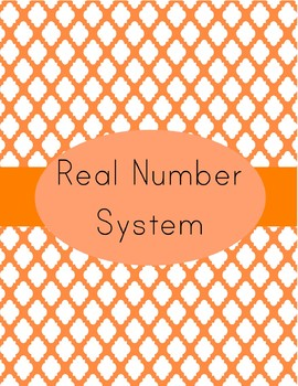 Real Numbers Notes and Practice