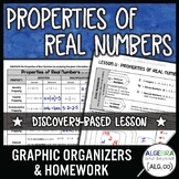 The Real Number System and Properties Lesson