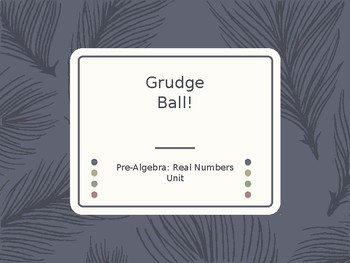 Real Numbers Review Grudgeball