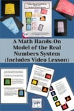 Real Numbers System: A Math Hands-On Model (Includes Video Lesson)