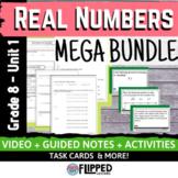 Real Numbers Unit MEGA BUNDLE - Flipped Classroom