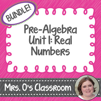 Real Numbers Unit - Pre-Algebra Curriculum