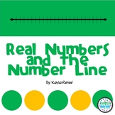 Real Numbers and the Number Line: Lesson and Guided Notes: 7.NS.1