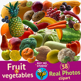 Real Photo Clipart | Fruit and Vegetables