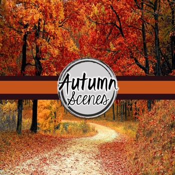 Autumn/ Fall Digital Paper (Autumn Scenes)