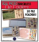 Real Photo Errorless File Folders