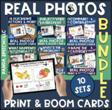 Real Photo Practice Cards for Language Skills: Print & Dig