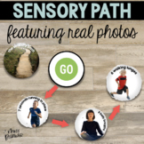 Real Photo Sensory Path
