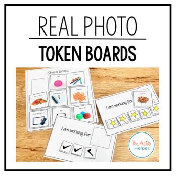 Real Photo Token Board