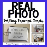 Real Photo Writing Prompt Cards