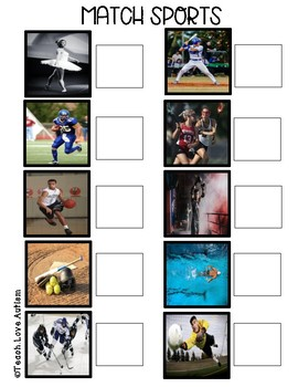 Real Photograph File Folders: Sports