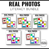 Real Photos Literacy Center Boom Cards
