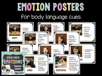 Real Photos Feelings and Emotions Printable Version