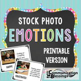 Real Photos Emotions: Printable Version