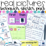 Real Photos Special Education Behavior Starter Pack - EDITABLE!