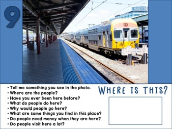 Real Photos of 40+ Community Places - No Print PDF w/ Printable Writing Prompts