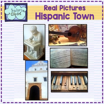 Real Pictures {Old Hispanic town} stock photos For Personal and Commercial use