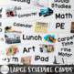 Real Pictures Visual Schedules for Special Education - EDITABLE