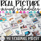 Real Pictures Visual Schedules for Special Ed - EDITABLE