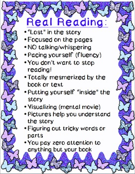 Real Reading Poster