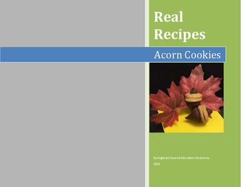 Real Recipes: Acorn Cookies