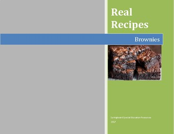Real Recipes: Brownies