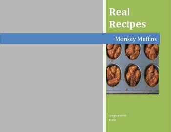 Real Recipes: Monkey Muffins