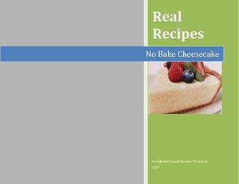 Real Recipes: No Bake Cheesecake
