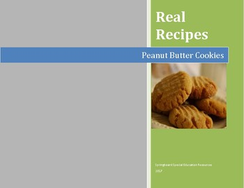 Real Recipes: Peanut Butter Cookies