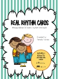 Real Rhythm Cards