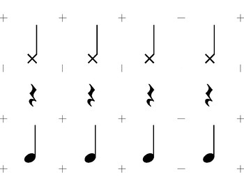 Real Rhythm Cards – Large