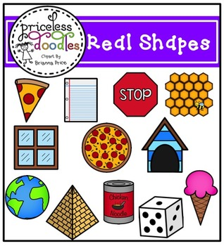 Real Shapes (The Price of Teaching Clipart Set)
