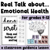 Real Talk on Emotional Health & Suicide: A HS Guidance Lesson