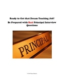 Real Teacher Interview Questions-A Collection for K-12 Tea