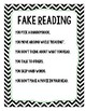 Real Vs Fake Reading Posters