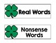 Real Words vs. Nonsense Word Sort