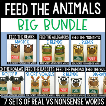 Real Words vs Nonsense Words: BUNDLE