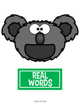 Real Words vs Nonsense Words: Bossy R