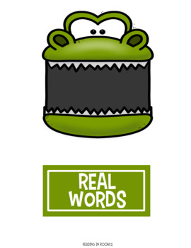 Real Words vs Nonsense Words: S Blends