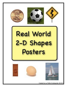 Real World 2-D Shapes Posters