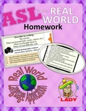 Real World ASL Homework