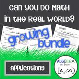 Real World Applications Bundle - Algebra
