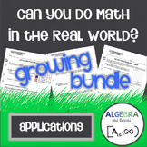 Real World Applications Bundle - Algebra